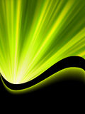 Bright blast green tone background. EPS 8 Royalty Free Stock Photos