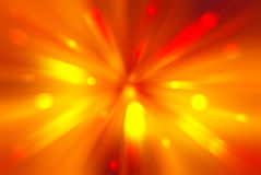 Bright blast of light background Stock Image