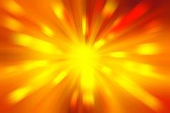 Bright blast of light background Royalty Free Stock Photo