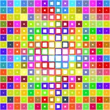 Bright Blocks Pattern Royalty Free Stock Images