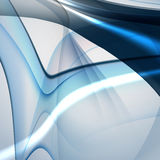 Bright blue abstract background Stock Photography