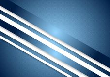 Bright blue abstract background Stock Images