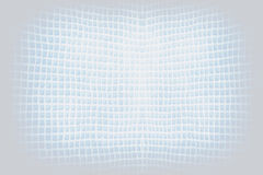 Bright blue abstract checkered string wave background Stock Photo