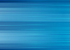 Bright blue abstract lines background. Vector stripes design Stock Photo