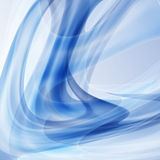 Bright blue abstract lines  illustration background Royalty Free Stock Photo
