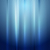 Bright blue abstract perforated texture Stock Photos