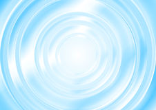 Bright blue abstract smooth circle background Royalty Free Stock Image