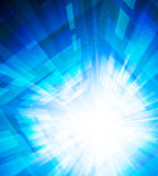 Bright blue background Stock Image