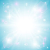 Bright blue background Royalty Free Stock Photography