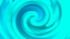 Bright blue blurred wavy striped background. Beautiful design. Stock Photos