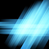 Bright blue club abstract modern layout Stock Image