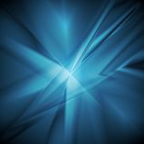Bright blue concept elegant background. Vector design Stock Image