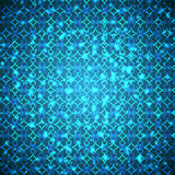 Bright blue flashes Royalty Free Stock Images