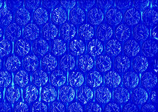 Bright Blue Geometric Abstract Stock Photography