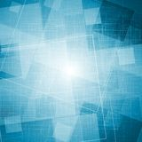 Bright blue grunge vector texture Royalty Free Stock Photos
