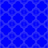 Bright Blue Pattern background Royalty Free Stock Image