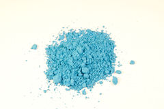 Bright blue pigment Stock Images
