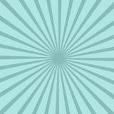 Bright blue rays background. Twister effect. Comics, pop art style Stock Photos