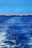 Bright blue sea water, Stock Photography
