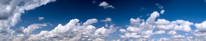The bright blue sky Royalty Free Stock Images