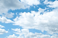 Bright blue sky Royalty Free Stock Photo