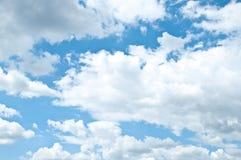 Bright blue sky Royalty Free Stock Photo