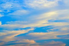 Bright blue sky for background concept welcome to summer and holidays. Bright blue sky background concept welcome summer holidays cloudscape cloudy beautiful stock photos
