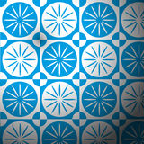 Bright blue sky backgrounds. By illustrations Royalty Free Stock Image