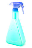 A bright blue spray bottle Stock Images