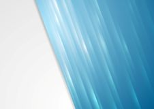 Bright blue stripes vector background Royalty Free Stock Photos