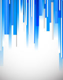 Bright blue tech background Royalty Free Stock Photo