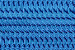 Bright blue Thread Background Royalty Free Stock Photo