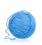 Bright blue threads Royalty Free Stock Photography