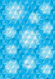 Bright blue triangles background Royalty Free Stock Photo