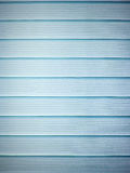 Bright blue window blinds Stock Image