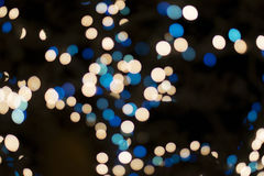 Bright blurred bokeh lights Royalty Free Stock Photography