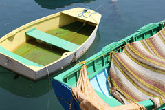 Bright Boats 2 Royalty Free Stock Photography