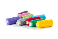 Bright bobbin thread Royalty Free Stock Photos