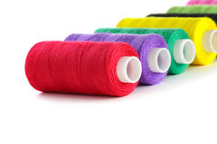 Bright bobbin thread Stock Image