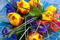 Bright bouquet Stock Photos