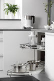 Bright brand new european kitchen Royalty Free Stock Photography