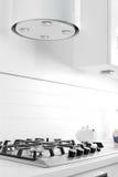 Bright brand new european kitchen Stock Image