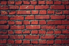 Bright brick. Old brick keeps the construction Royalty Free Stock Photos