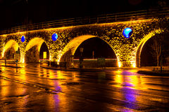 Bright bridge Stock Photography