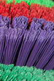 Bright Broom Bristles Royalty Free Stock Images