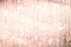 Bright brown blurry valentine background Royalty Free Stock Photos
