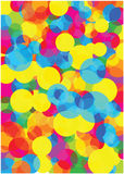 Bright bubbles background Royalty Free Stock Photo