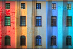 Bright building Stock Photos
