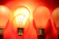 Bright bulb Royalty Free Stock Photo