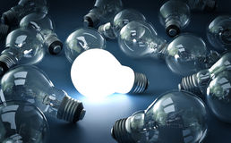 Bright Bulb Royalty Free Stock Image